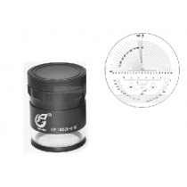 Лупа  измерительная    ЛИ - 2 - 10х, диапазон 10-0-10,  шкала  0,1 мм