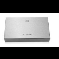 Мера концевая  поштучно  от  1.01 …. 1.5 мм  кл. 1    Links     ISO 9001