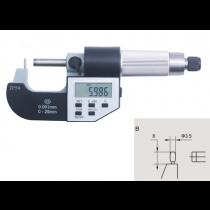 Микрометр  трубный  цифровой   МТЦ    0 - 25  мм  IP54    тип  В