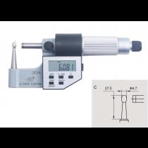 Микрометр  трубный  цифровой   МТЦ    0 - 25  мм  IP54    тип  С