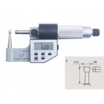 Микрометр  трубный  цифровой   МТЦ    0 - 25  мм  IP54    тип  F