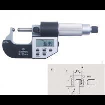 Микрометр  трубный  цифровой   МТЦ    0 - 25  мм  IP54    тип  К