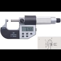 Микрометр  трубный  цифровой   МТЦ    0 - 25  мм  IP54    тип  J