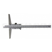 Штангенглубиномер   ШГ - 300 - 0,02   с  основанием  150  мм SHAN