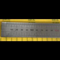 Линейка  металлическая   2500 х 19 х 0,5  мм