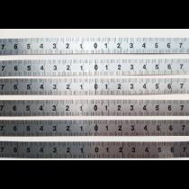 Линейка  металлическая   3000 х 19 х 0,5  мм  отсчет от центра