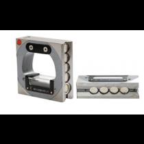 Уровень  рамный магнитный  100 мм    0,02 мм/м - двухсторонний магнит  (СЕРТИФИКАТ ISO 9001)