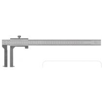 Штангенциркуль  ШЦО  20 - 200  - 0,02 / 40 мм   для внутренних  канавок