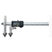 Штангенциркуль  ШЦЦО  20-500 - 0,01  для измерения расстояний между центрами отверстий  ( плоские + конус )