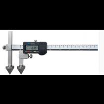 Штангенциркуль  ШЦЦО  20-600 - 0,01  для измерения расстояний между центрами отверстий  ( плоские + конус )