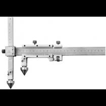 Штангенциркуль  ШЦО 20-300-0,02  для измерения расстояний м/у центрами отверстий с коническими вставками