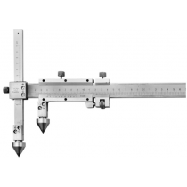 Штангенциркуль  ШЦО 30-2000-0,02  для измерения расстояний м/у центрами отверстий с коническими вставками