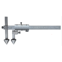 Штангенциркуль  ШЦО  20-600 - 0,02  для измерения межцентровых расстояний   ( плоские + конус )