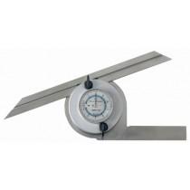 """Угломер  универсальный  индикаторный   УИ ( 0°-360°) 5""""  длина 300 мм    SHAN"""