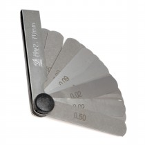 Набор  щупов № 2   ( длина 70 мм )     ( 0,02 - 0,5мм )