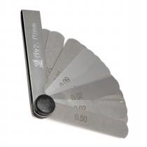Набор  щупов № 4   ( длина 70 мм )     ( 0,1 - 1,0мм )