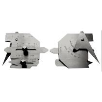 Универсальный  шаблон  сварщика   WG - 1 ( шкала 40мм )  аналог  УШС 4